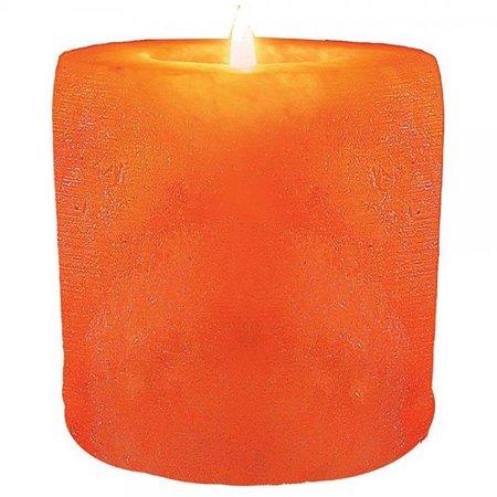 wbm himalayan glow cylinder style hand carved  natural air purifying himalayan crystal salt 1 hole tealight candle -