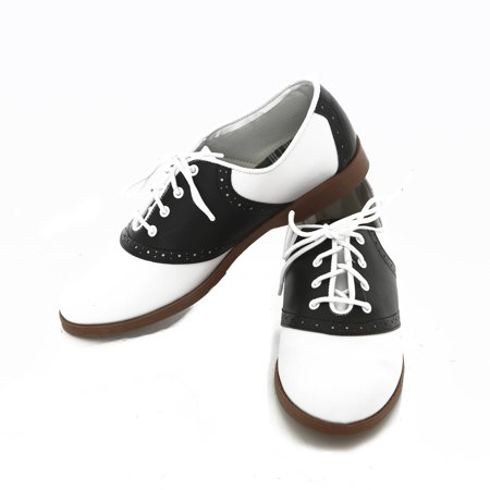 Adult - 50's Saddle Shoes - Women - 8.5](Halloween Costumes 50's Girl)