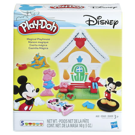 Play-Doh Disney Mickey Mouse Magical Playhouse Set with 5 Cans of Dough (Mickey Mouse Crafts)