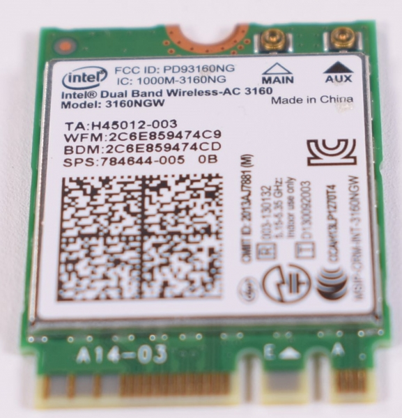 KI.WKN01.008 Acer Wireless Card AO1-431-C8G8