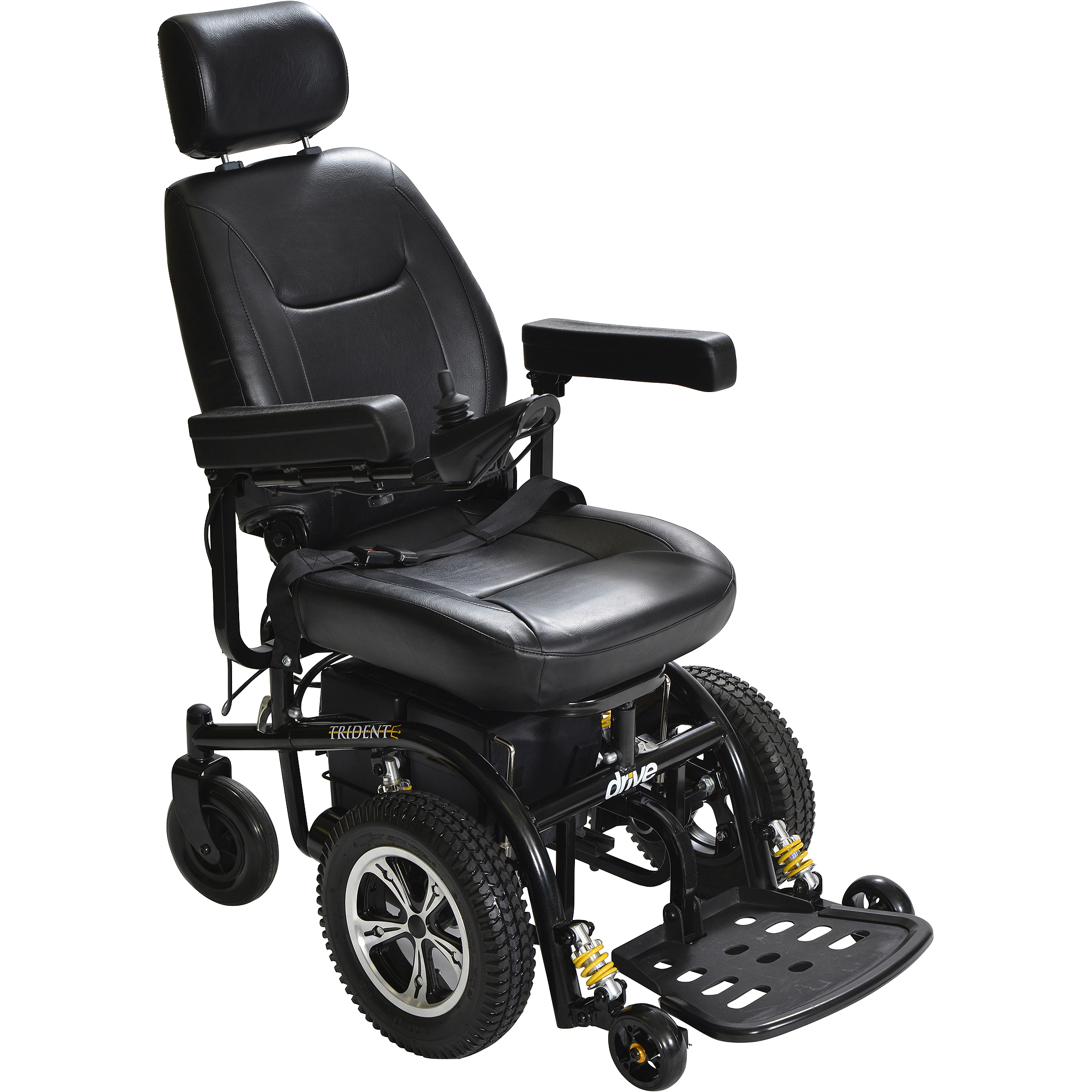 "Drive Medical Trident Front Wheel Drive Power Chair, 18"" Seat"