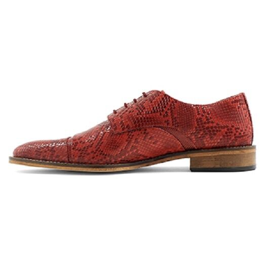 Details about  /Stacy Adams Men/'s RIZZO Cap toe oxford Red Leather Shoes 25086-600