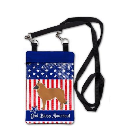 USA Patriotic Belgian Shepherd Crossbody Bag Purse (Shepherds Purse)