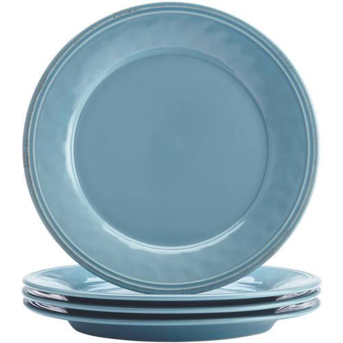 Rachael Ray Cucina Dinnerware 10 1 2 Stoneware Dinner Plate Set Of 4 Walmart Com Walmart Com