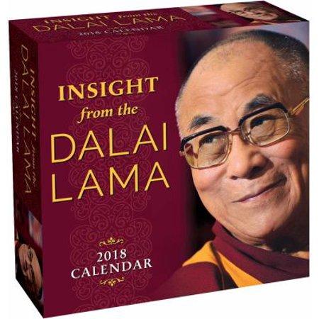 Insight From The Dalai Lama 2018 Calendar