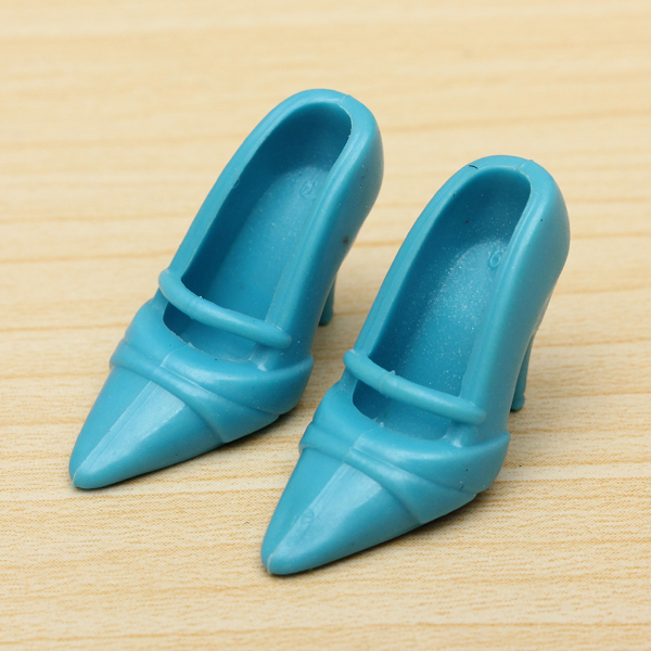 40Pairs//Lot Doll Shoes High Heel Sandals for Doll Fashion