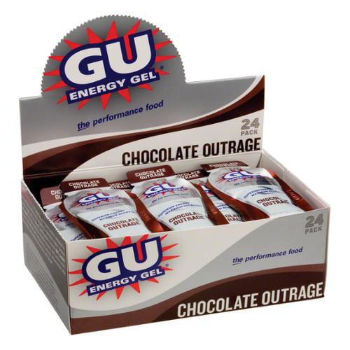 Gu Energy Gel, Chocolate, 24 Ct