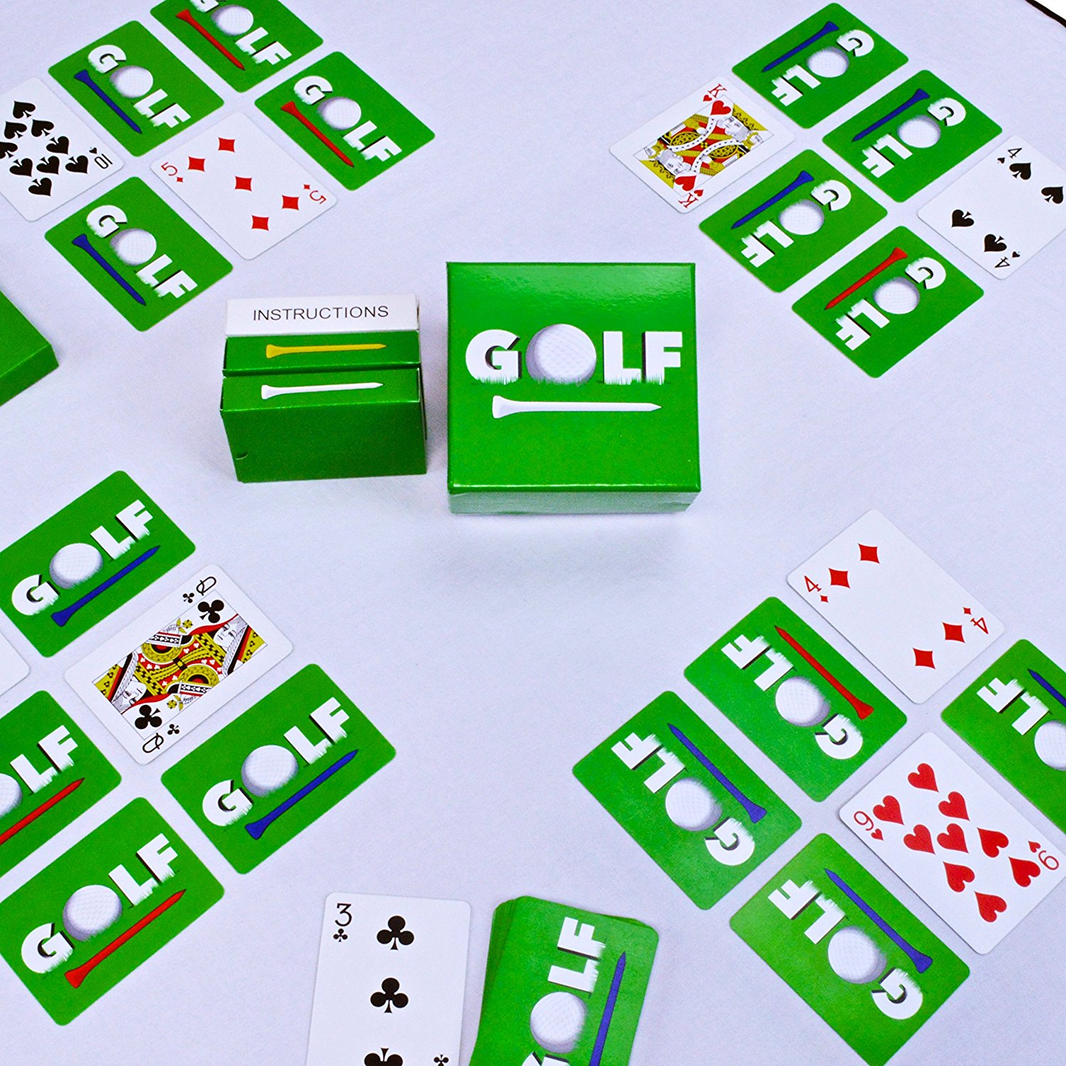 Legacy Toys Family Games GOLF The Family Fun Card Game