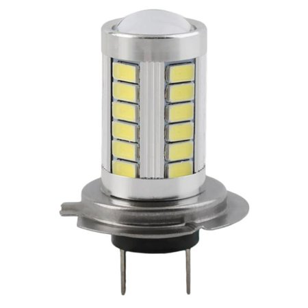 Vehicle Parts 4pcs H7 5630 SMD 33-LED 12V White Auto Car Fog Driving Light Lamp Bulb