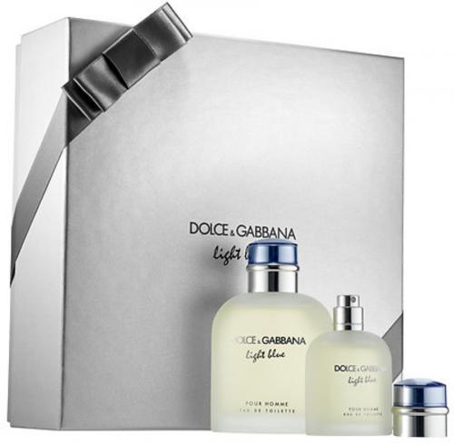 Dolce & Gabbana Light Blue 2 Pcs Gift Set for Men