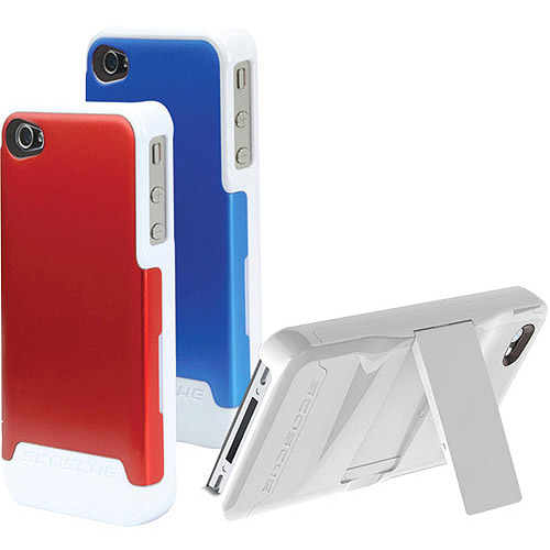 Scosche Universal iPhone 4 Switchback G4 Polycarbonate Case with Interchangeable Back, Red/Gold/Black