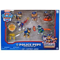 Paw Patrol Ultimate Rescue Police Pups Figure 6-Pack