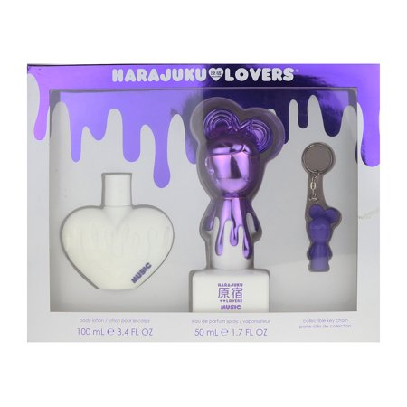 Harajuku Lovers Music 3 Piece Gift Set - Harajuku Lovers Halloween