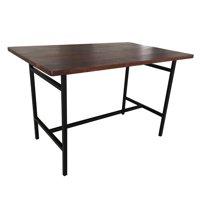 Aileen Dining Table Chestnut Black