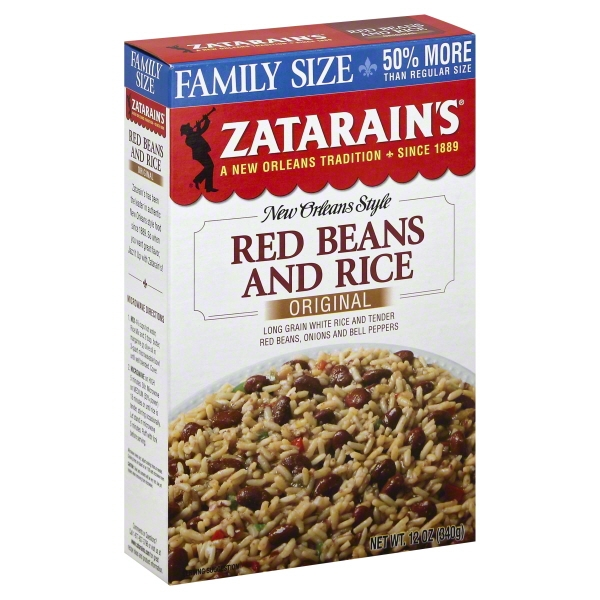 Zatarain's® Red Beans and Rice Mix, 12 oz. Box