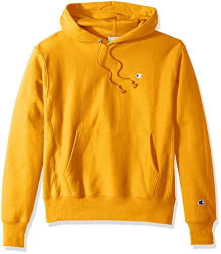 gold champion hoodie
