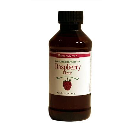 Raspberry Flavored Liqueur - LorAnn Raspberry Super Strength Flavor 4 oz