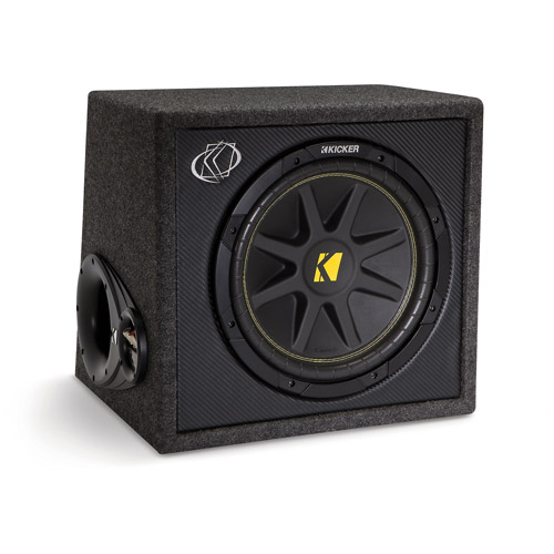 "Kicker VC12 Single Comp 12"" 4-Ohm Subwoofer in Vented Box"