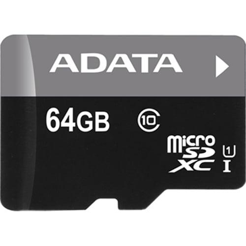 Adata Premier 64 Gb Microsd High Capacity [microsdhc] - Class 10/uhs-i - 30 Mbps Read - 10 Mbps Write - 1 Card (141803)