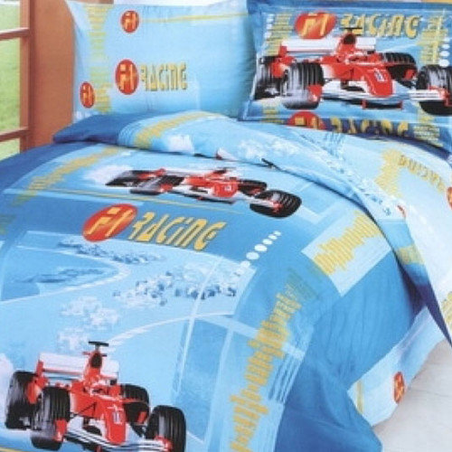 Le Vele F1 4 Piece Junior Duvet Cover Set