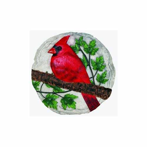 Cardinal Stepping Stone by Spoontiques - 12914