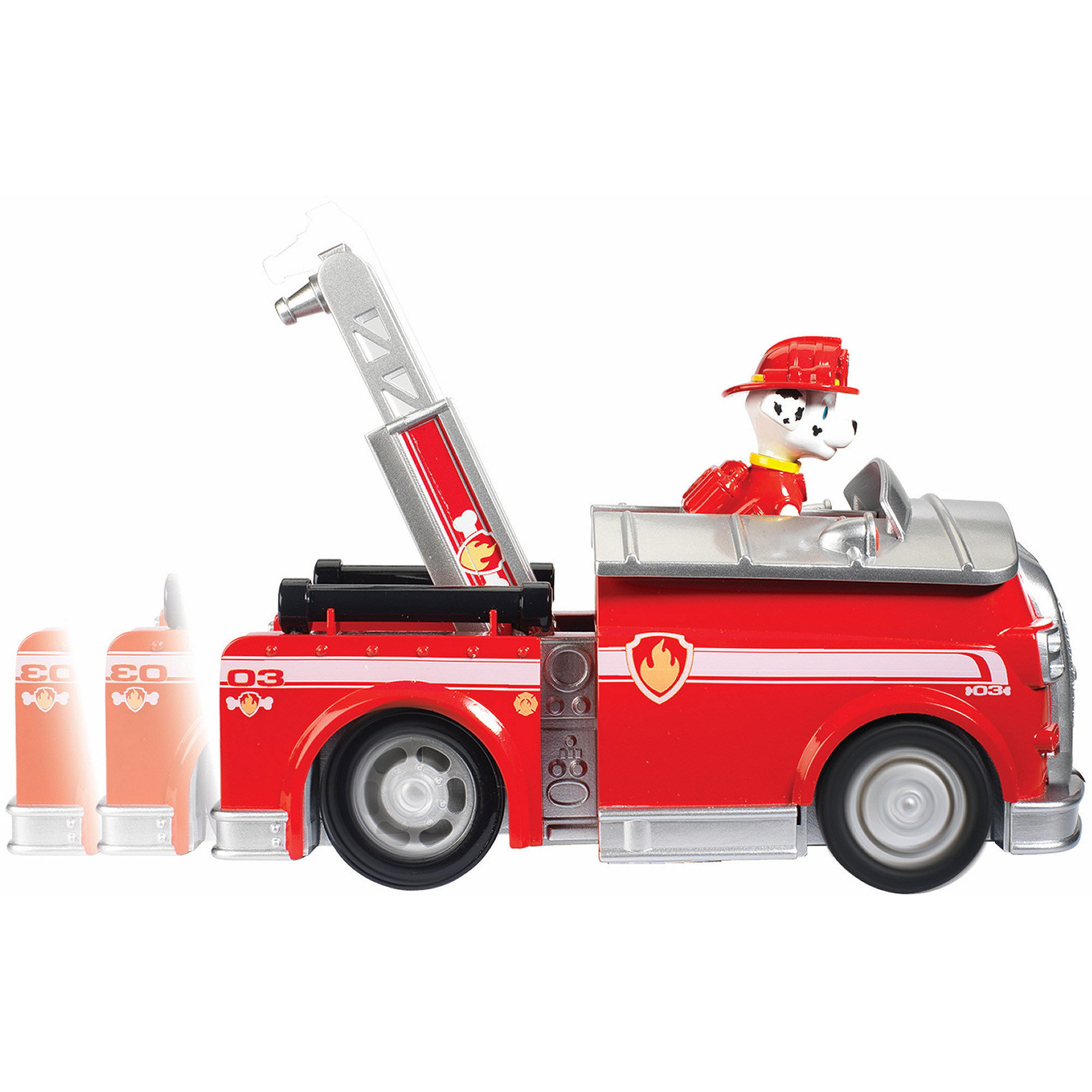 Nickelodeon Paw Patrol - On A Roll Marshall, Figure and Vehicle with Sounds