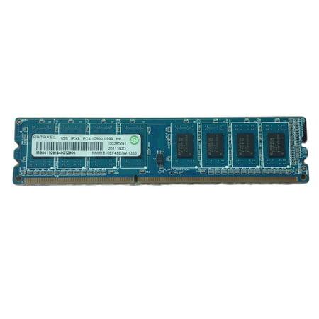 Refurbished Mixed Brand 1GB 1Rx8 DDR3 SDRAM DIMM PC3-10600 (DDR3-1333) 10600U Desktop Memory