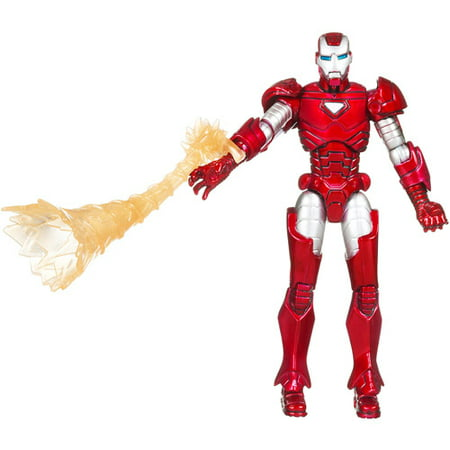 Marvel Comics Mvl Unv Fig Iron Man Silver
