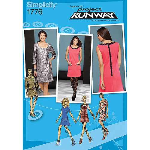 Misses' Dress Project Runway Collection-12-14-16-18-20, Pk 1
