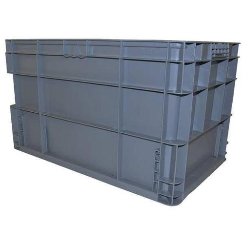 SCHAEFER AF241514.XAGY1 Wall Container,Gray,24in. L,2.20 cu. ft.
