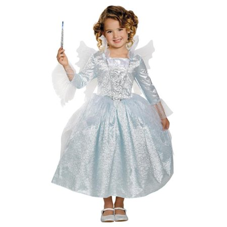 Morris Costumes DG87069K Fairy Godmother Deluxe Costume, Size 7-8 (Fairy Godmother Outfits)