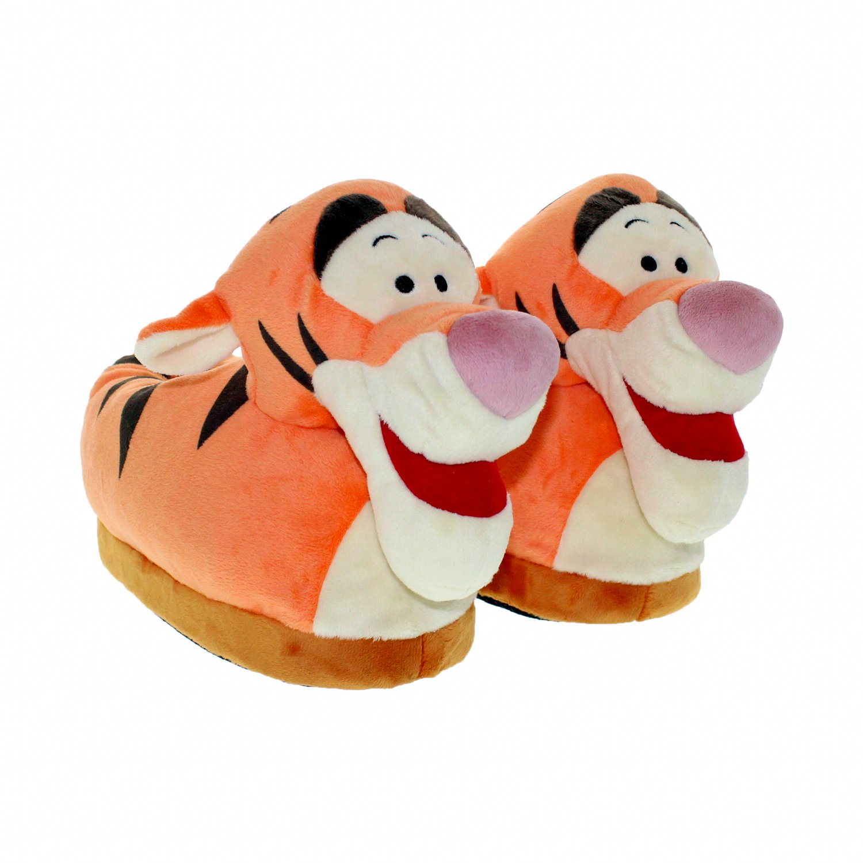 7e48081ac59 Happy Feet - 7012-1 - Disney Winnie the Pooh - Tigger Slippers - Small -  Happy Feet Mens and Womens Slippers - Walmart.com