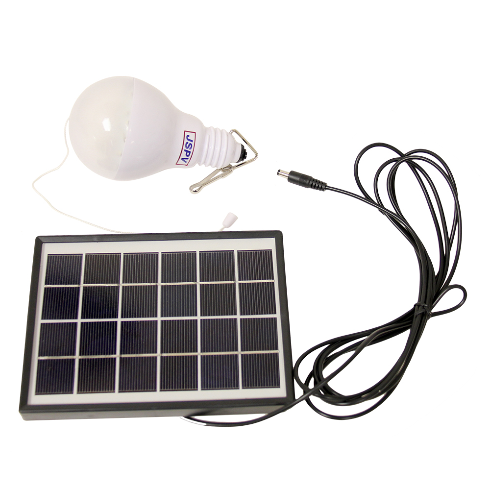 Solar Panel w  LED Lamp Set Perfect for Camping! by Cellbatt