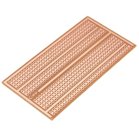 "1/5/10 Pcs DIY Bakelite Solderless Breadboard - Electronic Universal PCB Panel - Single Side Copper Prototype Paper PCB Breadboard 2-3-5 joint holes - Size : 4""x 2"""