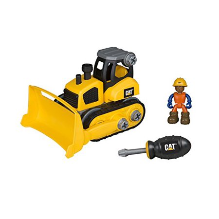 Toy State Caterpillar CAT Junior Operator Bulldozer Construction Vehicle - image 1 of 1