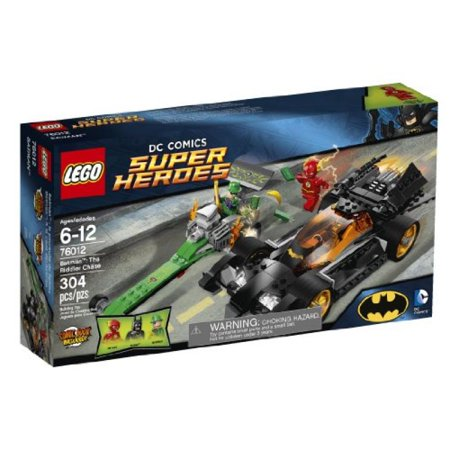 LEGO Superheroes 76012 Batman: The Riddler Chase (Discontinued by manufacturer) ()