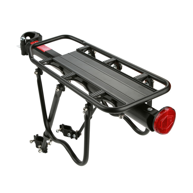 Aluminum Alloy Mountain Bike Bicycle Rear Seat Luggage Shelf Rack Carrier Cycling Accessory, Bike Luggage Rack,Bike Seat Carrier