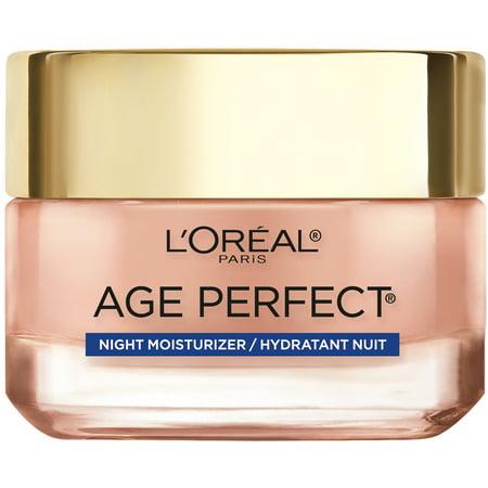 L'Oreal Paris Age Perfect Rosy Tone Cooling Night Moisturizer, 1.7 fl. oz.