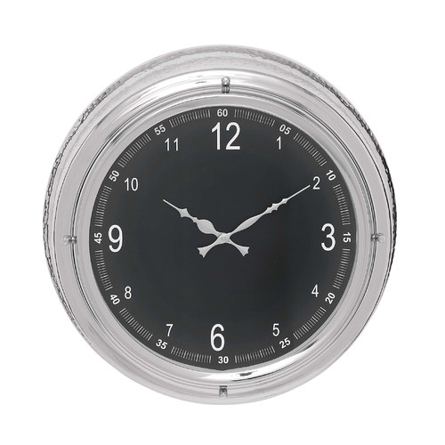 Woodland Imports 18'' Wall Clock by Woodland Imports