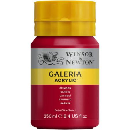 Winsor & Newton Galeria Acrylic, 250ml Squeeze Bottle, Crimson
