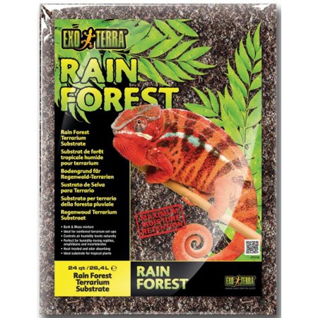 Exo Terra Rain Forest Terrarium Substrate 24 Quart (Rainforest Substrate)