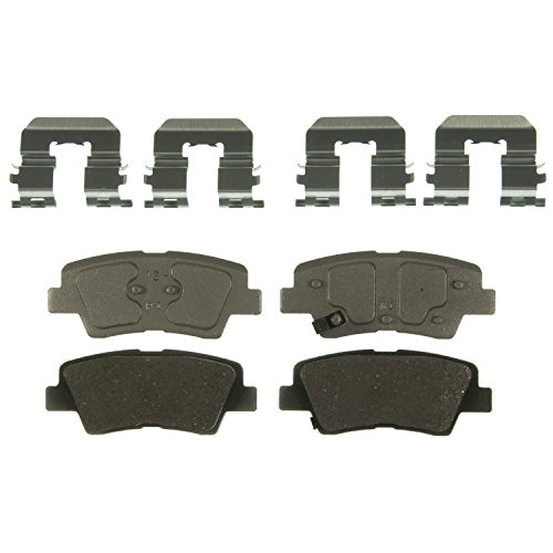 Wagner QC1544 Disc Brake Pad Set for Hyundai Accent, Elantra, Elantra Coupe