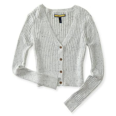 Aeropostale Juniors Shrunken Cardigan Sweater