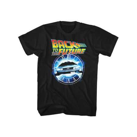 Back To The Future 2017 Clothes (Back To The Future 1985 Comedy Action MovieClock Car Adult T-Shirt)