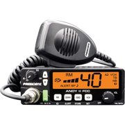 New President Andy II 12/24V FCC CB Radio with Weather Channel/Alert, Scan, USB Port, VOX and Much More!