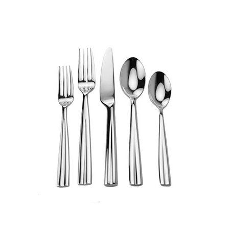 David Shaw Silverware 45 Piece Cabo Splendid Flatware Set