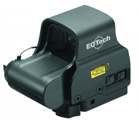 Eotech OPMOD EXPS2-0 Holosight w  65 MOA Ring and 1-Dot Reticle, Black by