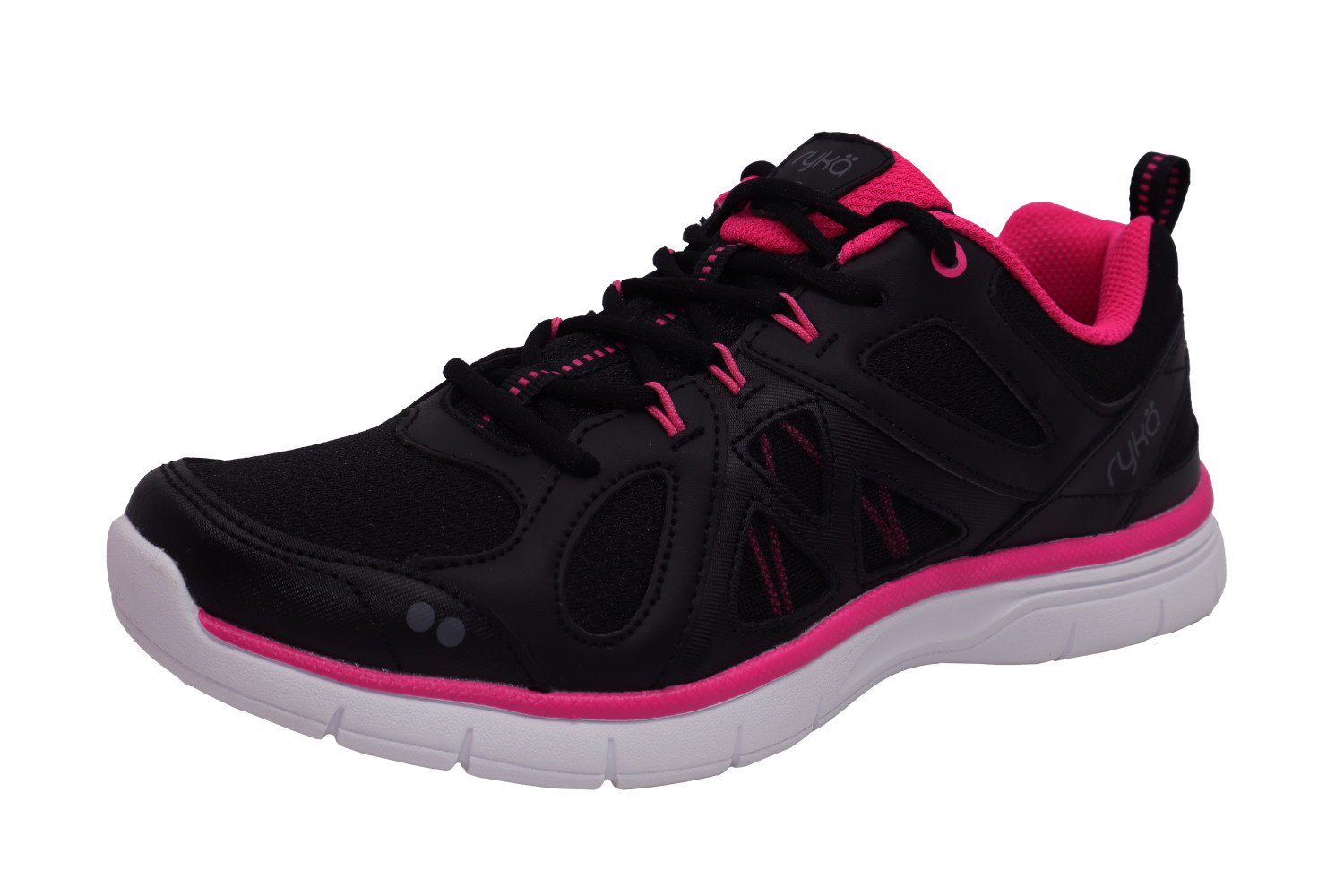 Pink Ankle-High Leather Training Shoes