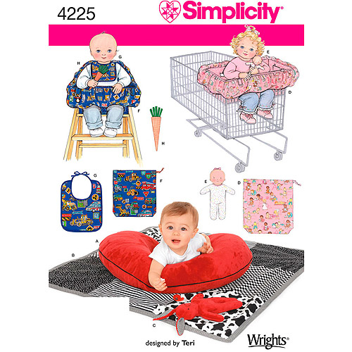 Simplicity Pattern Baby Accessories, One Size