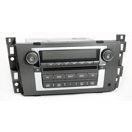 Cadillac Srx Dash - 2007-2009 Cadillac DTS SRX Radio AM FM 6 Disc CD Player With Aux PN 25818944 US9 - Refurbished